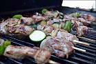 Freshly BBQ'ed Shish Kebab!
